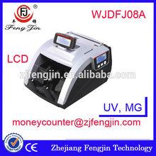 FJ08A super fake us dollar/eur/india banknote counter