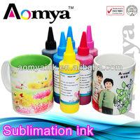 Aomya Eco-friendly sublimation ink (heat transfer printing ink )for epson C110 CX3900 C90 CX4300 CX5500 DX8400 DX8450