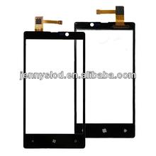 Original touch for Nokia lumia 820 digitizer with frame black