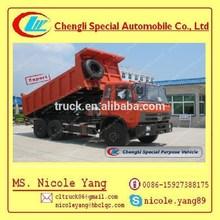 15m3 dump truck Dongfeng 6*4 truck, super dump trucks for sale