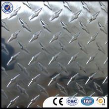 Aluminium roofing sheet ribbed plate
