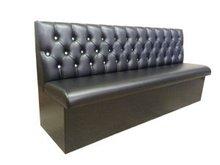 furniture long MDF black bench BT1064