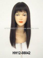 Mono U-Part Lace wigs Human hair