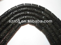 Wholesale high quality lava 20*12mm column jewelry beads