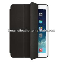 Luxury PU Leather Smart Sleep Wake Flip Folio Stand Case Cover Shell for ipad 5,Soft PU Case For Ipad Air