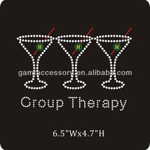 Group therapy wholesale rhinestone transfer motif