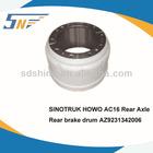 SINOTRUK AC16 Rear Axle Brake Drum,Rear Brake Drum,AZ9231342006