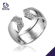 Special fashion style female silver 925 wedding ring set