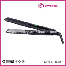 Newest silicone hair straightener professional Digital hair salon equipment