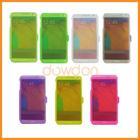 For Samsung Galaxy Note 3 TPU Case Flip Transparent
