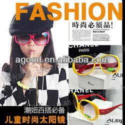 C82 Children's sunglasses UV protective eyewear Korean boys and girls baby child eyes large frame sunglasses wholesale tide