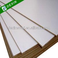 Melamine Faced High Gloss White MDF Board