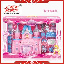 Kids furniture toys plastic doll house set