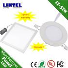 2013 hot selling square led light panel zhongtian