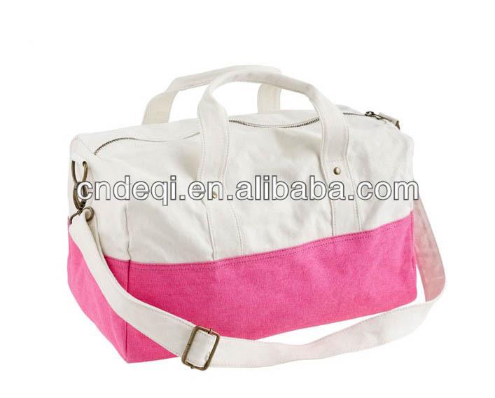 Large Canvas Ladies Travel Bag