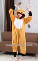 2014 super macio dos desenhos animados cosplay sexy costume macacão onesies animais fantasias de animais para adulto