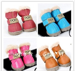 mixed colors wholesale waterproof dog boots