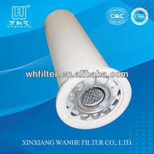 High efficiency oil and gas separation filter