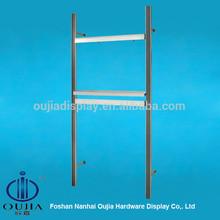 upright shelf clothes hanging system/garment shop equipment