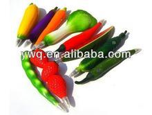 Hot sale 2014 Creative plastic fruit pen for promotional sale