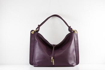 Natural Calf Skin Leather Handbag