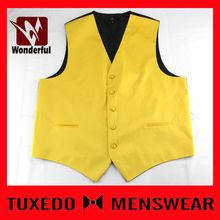 boy formal polyester woven jacquard waistcoat