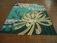 Handmade modern acrylic home decor carpets