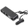 4 Way 12V Car Cigarette Lighter Socket Splitter , usb car charger cigarette lighter