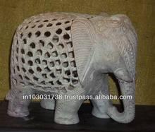 Sandstone Undercut Elephant