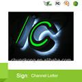 publicidad de la letra de canal nuevo concepto