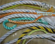 Todos los tipos de polipropileno cuerda de plástico
