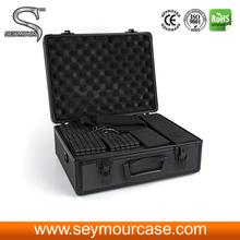 NEW alumnum camera tool carry case with diced foam