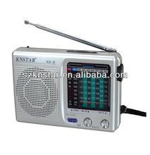 Gift pocket FM/TV/AM/SW1-7 classic radio