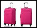 2014 vendita calda al di fuori viaggio valigia bagaglio trolleyin poliestere materiale