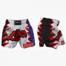 High Quality Professional Custom Design Satin Muay Thai Short