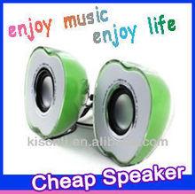 Apple design mini amplifier speaker box stand for desktop