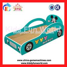 Children Bedroom furniture, school beds for kids- car shape baby bed fun beds for kids