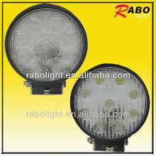 4x4 utv work light 27w offroad led working light