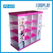 POP floor cardboard pallet display unit for supermarket sale