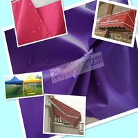High quality pu coated waterproof oxford awning cloth