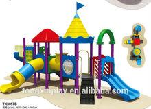 2014 plastic garden slide and swing TX3057B