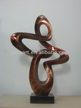 contemporary resin sculpture,resin handicraft for hotel decoration
