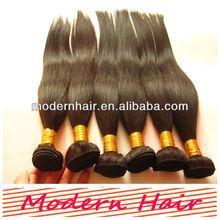 "100% Human Weaving Virgin Peruvian Hair AAAAA 10""-30"" inch Unprocessed Peruvian Human Hair"