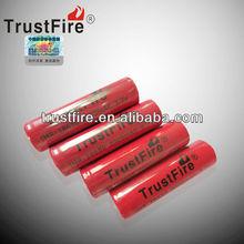 Trustfire wholesale imr 18650 battery 3.7v 2000mah high drain battery cell