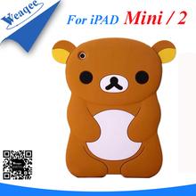 silicon penguin cover case for ipad mini