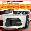 osir stile fibra di carbonio coperchio della lampada nebbia per vw golf mk6 carbonio r20 maschera fendinebbia auto fendinebbia shell