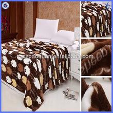 thick blankets/throw blanket/branded blanket