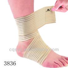 Full way pull elastic velcro snug ankle brace