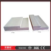 PVC and WPC door jamb for exterior door