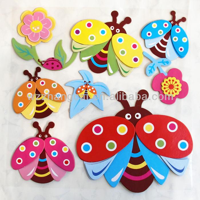 Оформление бабочками в детском саду